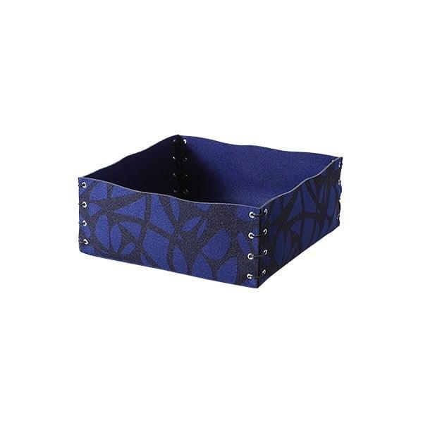 Filcowe pudełko, 12x6 cm, niebieskie
