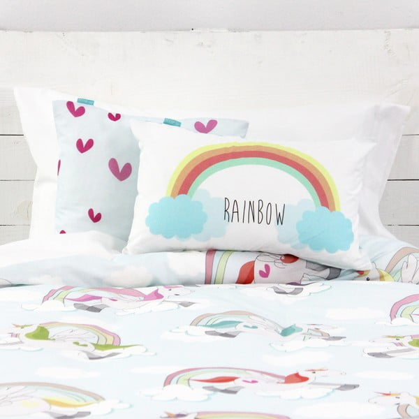 Poszwa na kołdrę i poduszkę Unicorn, 140x200 cm