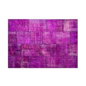 Dywan wełniany Allmode Violet, 150x80 cm