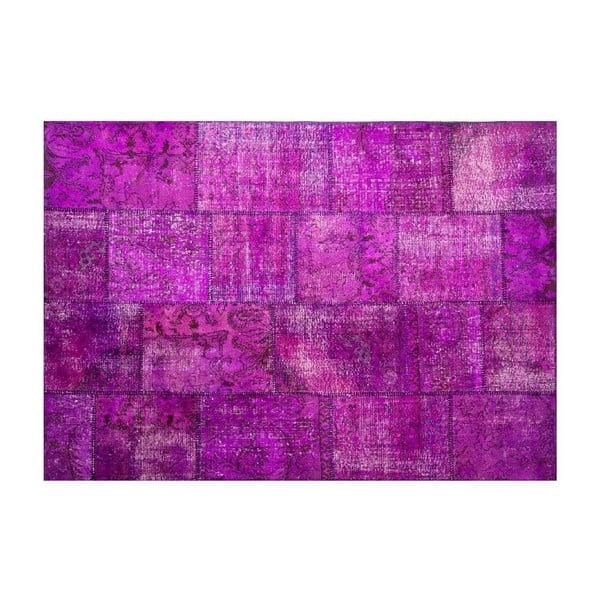 Dywan wełniany Allmode Violet, 180x120 cm