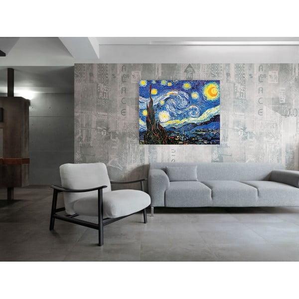 Obraz Vincent Van Gogh - Gwiaździsta noc, 120x96 cm