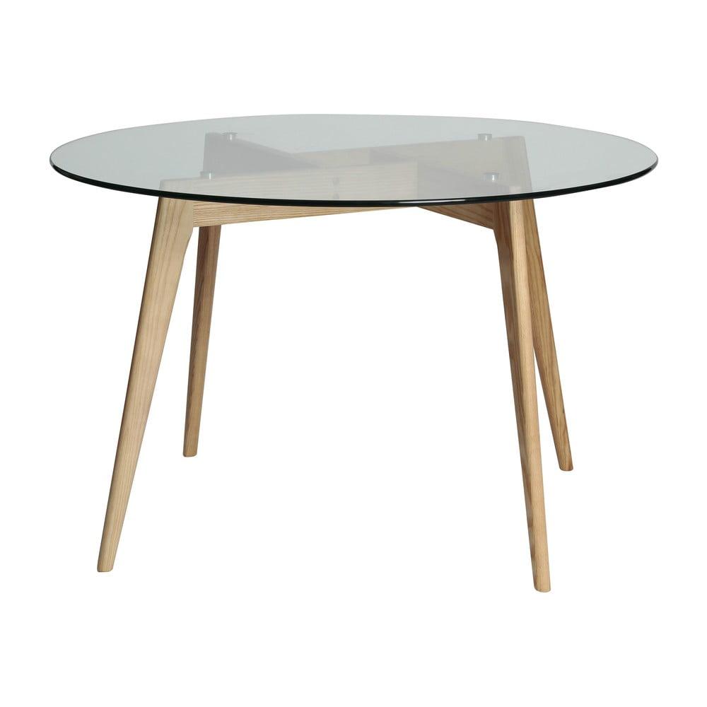 Okrągły stół do jadalni Marckeric Janis, ⌀ 120 cm