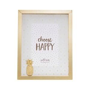 Ramka na zdjęcia Sass & Belle Pineapple, 18x23 cm