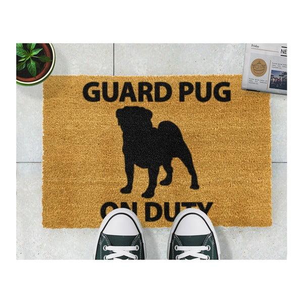 Wycieraczka Artsy Doormats Guard Pug, 40x60 cm