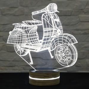 Lampa 3D stołowa Motocycle