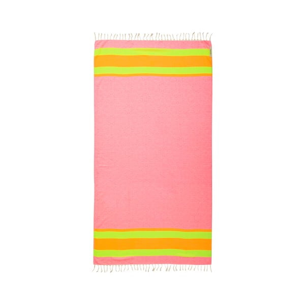 Ręcznik hammam Coast Pink, 105x175 cm