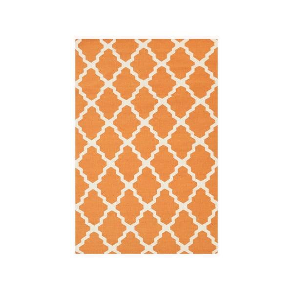 Ręcznie tkany dywan Kilim Jasmina Orange, 160x230 cm