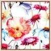 Zestaw 2 mat stołowych Birds and Flowers, 20x20 cm