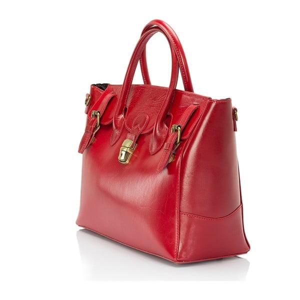 Czerwona torebka skórzana Giorgio Costa Candace