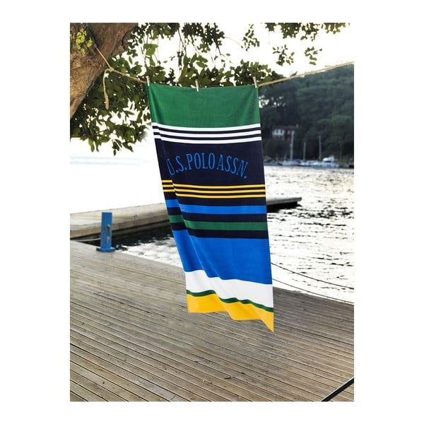 Ręcznik US Polo Stripes, 75x150 cm
