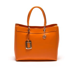 Skórzana torebka Carla Ferreri 168 Arancio