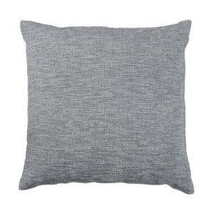 Antracytowa poduszka Walra Karla, 45x45 cm