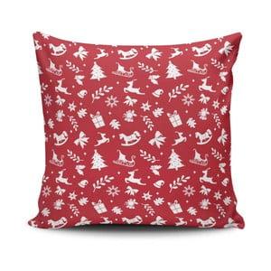 Poduszka Red&White Xmas Pattern, 45x45 cm