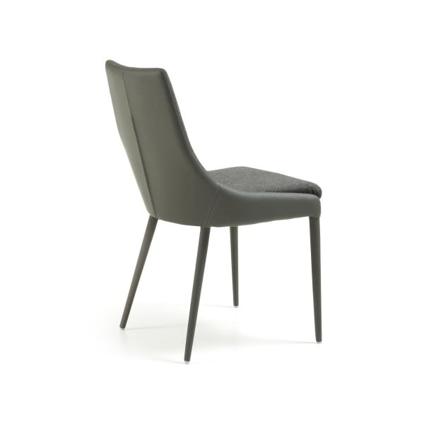 Szare krzesło La Forma Dant