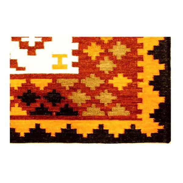 Ręcznie tkany dywan Kilim Mix Colour, 200x300 cm