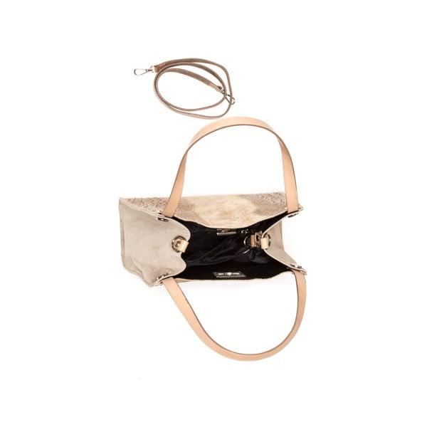 Skórzana torebka Renata Corsi 839 Fango