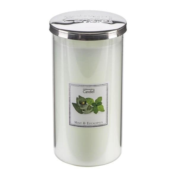 Świeczka zapachowa o zapachu mięty i eukaliptusa Copenhagen Candles Talll, czas palenia 70 godz.