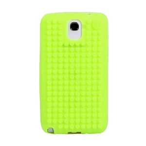 Pikselowe etui na Samsung Note 3, zielone