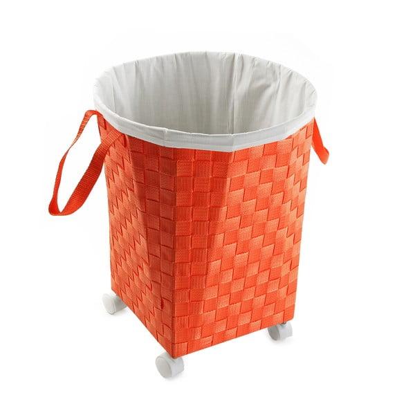 Koszyk na kółkach Ruedas, pomarańczowy
