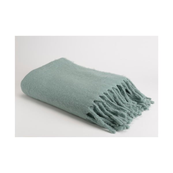 Pled Soft Green Blue, 130x170 cm