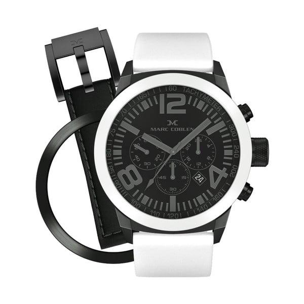 Zegarek unisex Marc Coblen z dodatkowym paskiem i obręczą P44