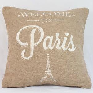 Poszewka na poduszkę Paris in Beige, 40x40 cm