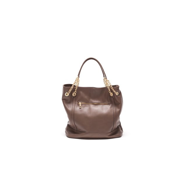 Skórzana torebka Tote 2089 Fango
