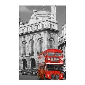 Fotoobraz Red Bus, 51x81 cm