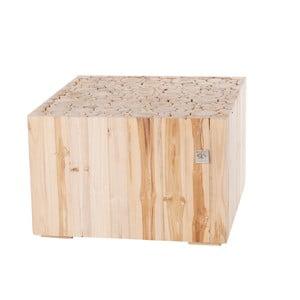 Drewniany stolik Cube