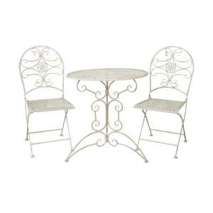 Stół i krzesła Vintage White