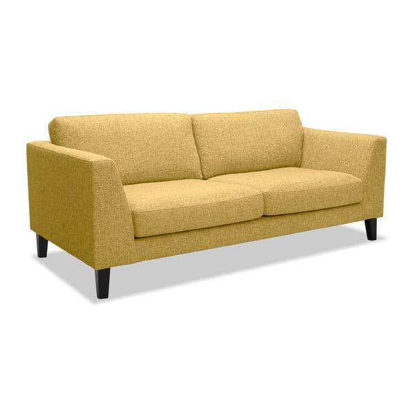 Żółta sofa 2-osobowa Vivonita Monroe