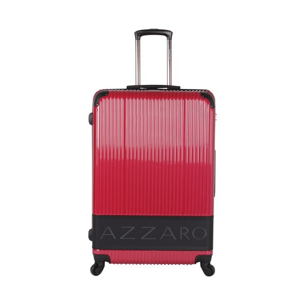 Walizka Azzaro Trolley Red, 107 l