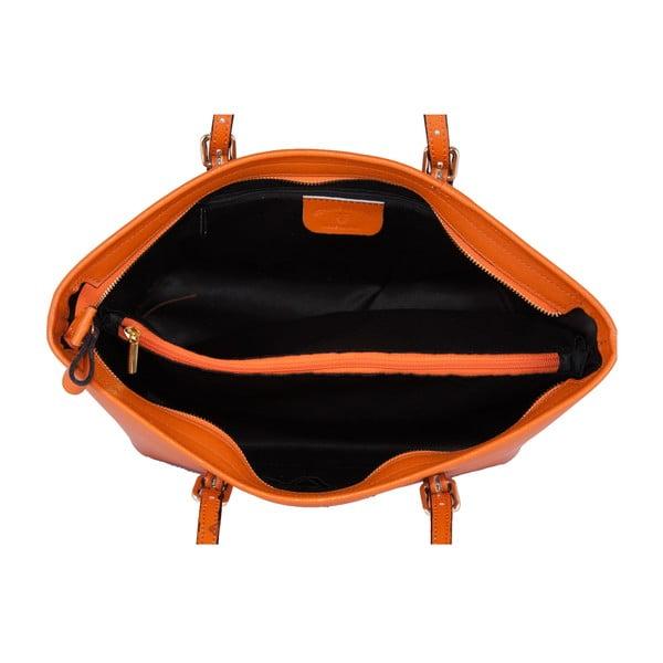 Torebka skórzana Andrea Cardone 2006 Orange