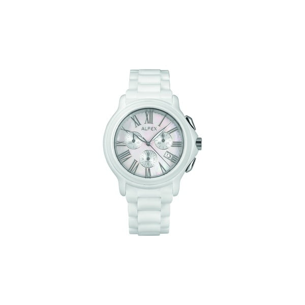 Zegarek męski Alfex 5629 White/White