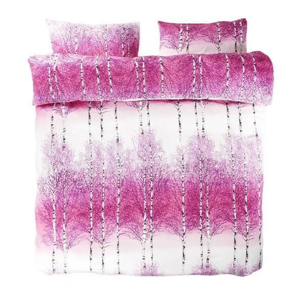 Pościel Koivikko Pink, 200x200 cm + 80x80 cm