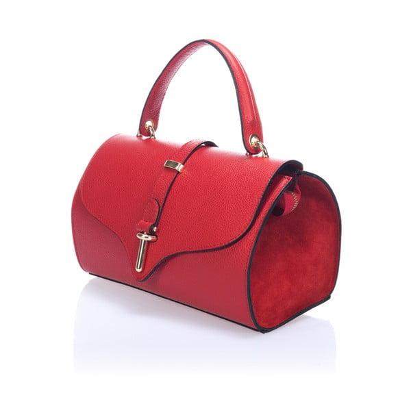 Skórzana torebka Markese 5258 Red