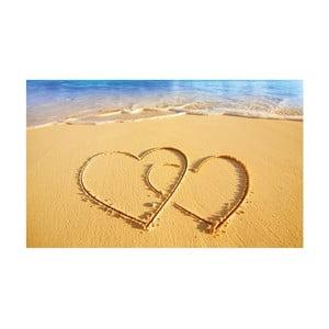 Fotoobraz Beach Hearts, 51x81 cm
