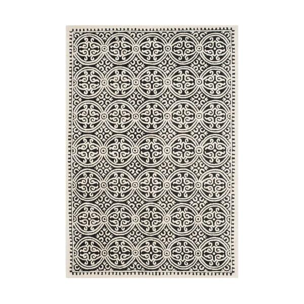 Dywan wełniany Marina Light Grey, 182x274 cm