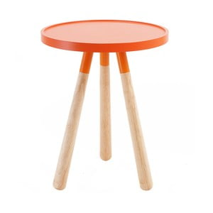 Stolik Present Time Orbit, pomarańczowy