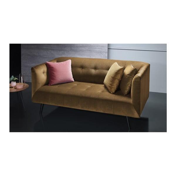 Brązowa sofa 3-osobowa Bobochic Paris Paris