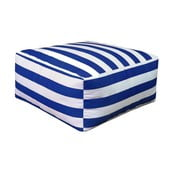 Puf Beach Blue Striped