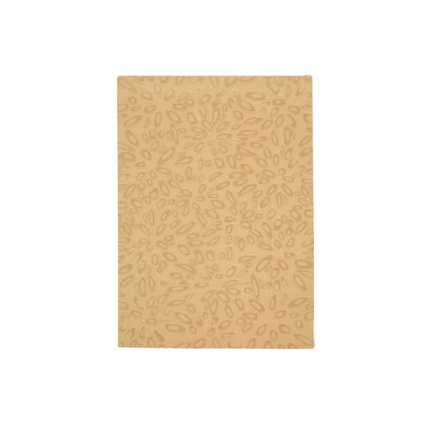 Dywan wełniany Seto Beige, 140x200 cm