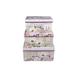 Zestaw 3 pudełek Tri-Coastal Florist