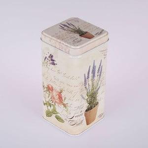Blaszany pojemnik Vintage Lavender
