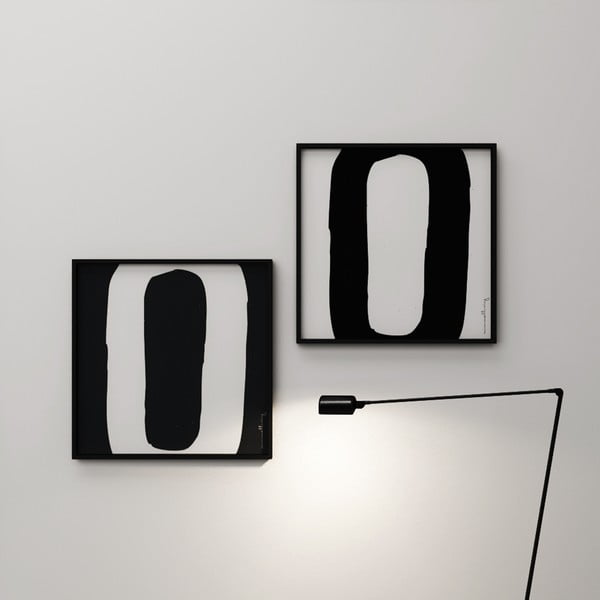 Plakat Litera O, 50x50 cm
