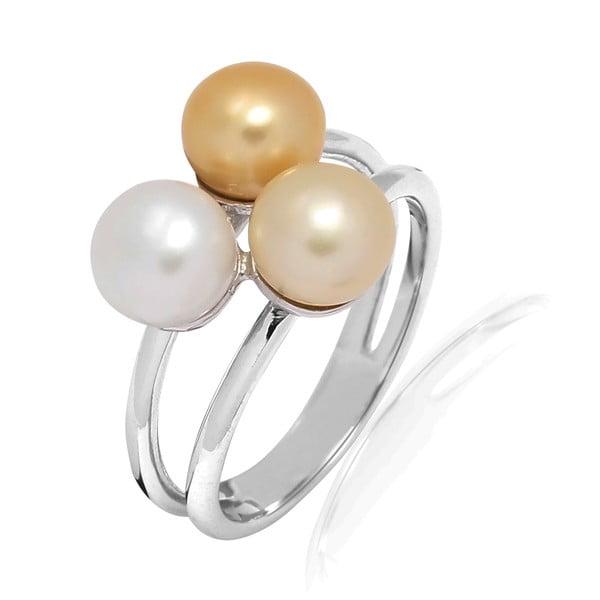 Pierścionek z perłą Nova Pearls Copenhagen Delphine, rozm.54