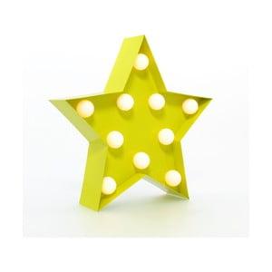 Światło dekoracyjne Carnival Star, żółte