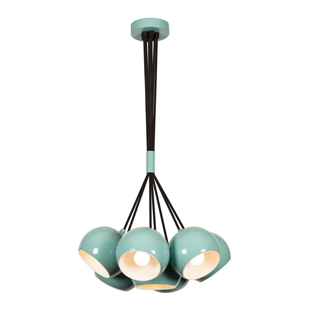 Miętowa lampa wisząca Opviq lights Sivani