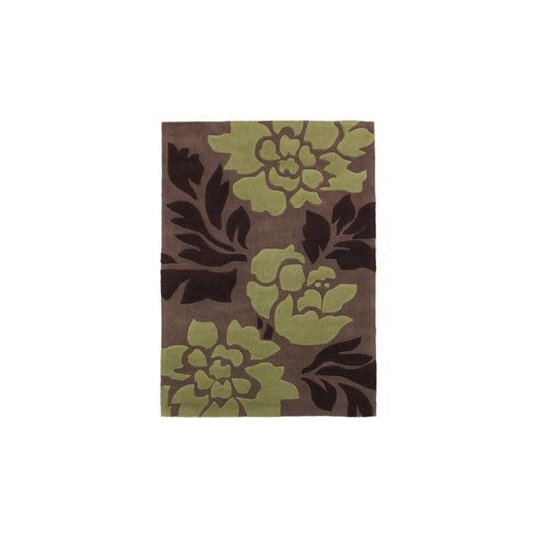 Dywan Hongkong Brown Green, 90x150 cm