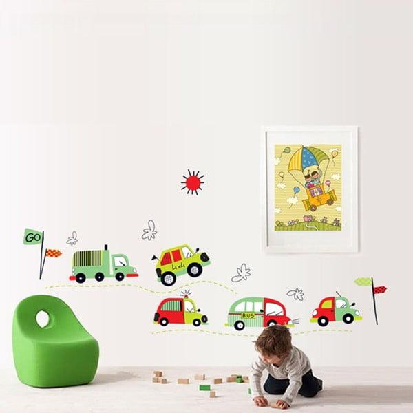 Naklejka dekoracyjna Diver Cars, 50x140 cm